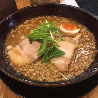 和味〜煮干みそとんこつラーメン(くねくね 伏見本店 )