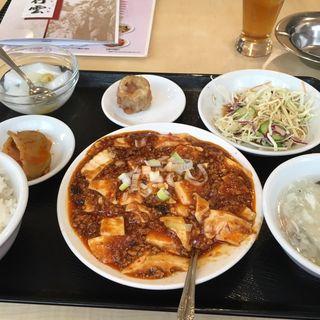 麻婆豆腐定食(観行雲)