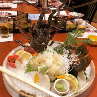 伊勢えび(日本料理てら岡 中洲本店 (てらおか))
