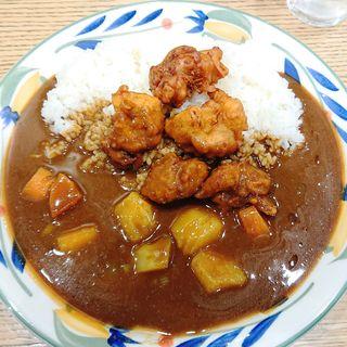 唐揚げ野菜カレー(カレーハウス ピヨ)