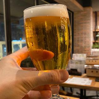 サッポロビール生ビール 黒ラベル 中(焼き鳥ショウチャン 恵比寿)