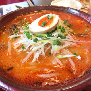 辛麺(満天家 本店)