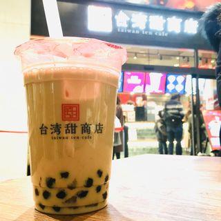 小芋圓ミルクティー(台湾甜商店横浜みなとみらい店)