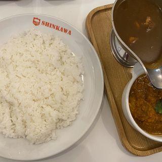 ツインカレー(新川デリー (DELHI))
