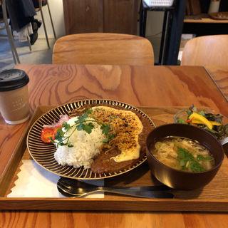 カレー定食セット(カフェムギ(CAFE MUGI))