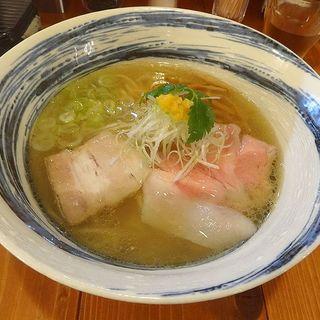 塩ラーメン(らぁ麺TORRY)