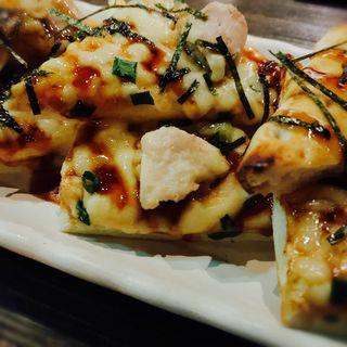 照り焼きピザ(9品コース)(肉バル MEAT BOY N.Y 梅田大阪駅前店)