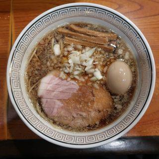 味玉煮干し醤油ラーメン(拉麺瑞笑)