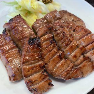 牛タン定食(たんや善治郎 仙台駅前本店)