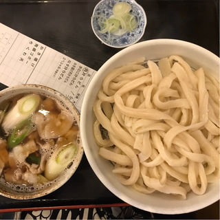 肉汁うどん(駕籠休み (かごやすみ))