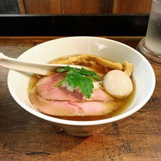特製煮干蕎麦(神保町 黒須)