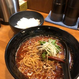 激辛坦々麺&白ごはん(蜀香 担担麺)