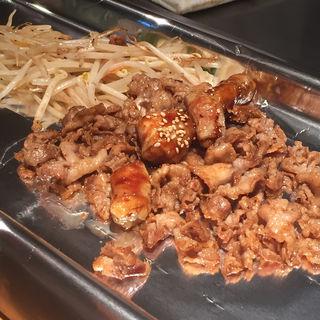 元祖 ホルモン定食(天神ホルモン 博多駅1番街)