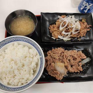 牛皿カルビ定食(吉野家 第2環状線笹原店 )