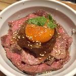 おろし香る ローストビーフ丼