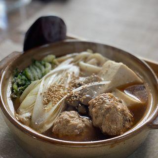 肉だんご鍋定食(ぷくぷく食堂 )