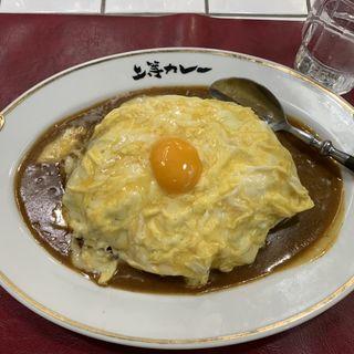 チーズ入りオムカレー大盛(上等カレー 神田小川町店)