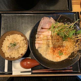 ランチセット(鯛担麺専門店 抱きしめ鯛)