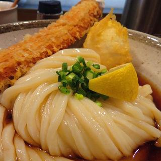 ちく玉天ぶっかけ(温・冷)大盛り(JUN大谷製麺処 (ジュンオオタニセイメンショ))