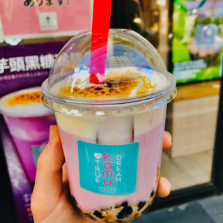 チーズクリーム黒糖タロ芋ミルク(KamuKamu かむかむ)