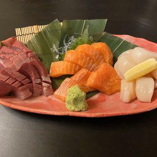 お造り(海鮮和食と日本酒 もっせ)