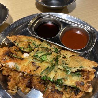 海鮮チヂミ(冷麺館 谷町店 )