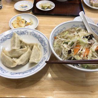 水餃子とタンメン(ぎょうざの満洲 久喜西口店 )