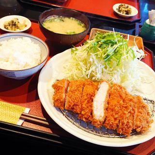 ロースカツ定食(とんかつ廣 )