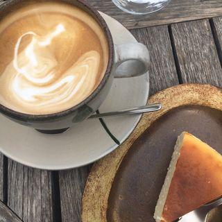チーズケーキ(モトコーヒー (MOTO COFFEE))
