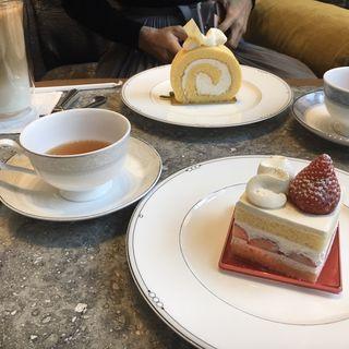 ケーキセット(スイスホテル南海大阪 ザ・ラウンジ)