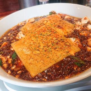 焼きチーズ麻婆麺(SHIBIRE-NOODLES 蝋燭屋 茶屋町あるこ)