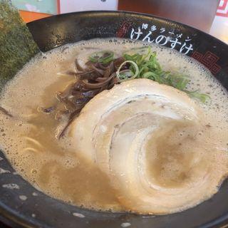 ラーメン(博多ラーメン 二代目けんのすけ)