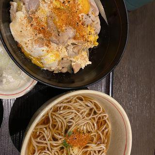 親子丼セット(稲田屋 大手町店 )