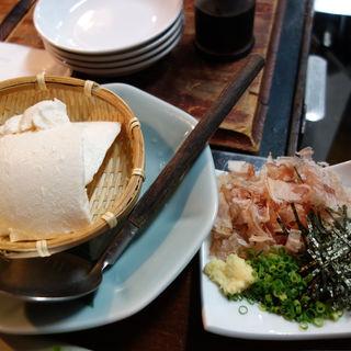 松尾豆腐のざる豆腐(あこめの浜)