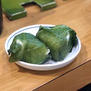 高菜おにぎり(ウエスト 川端店 )