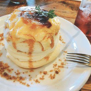 ホイップバターパンケーキ(モーンング)(Hawaiian Cafe Merengue 岸根公園店 )
