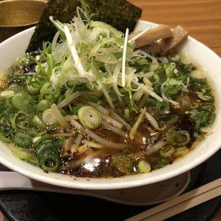 肉ネギそば(麺や食堂 246号店)