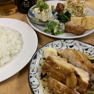 照焼チキン定食(立ち呑み処 和)