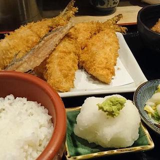 京ばし松輪のアジフライ定食(京ばし松輪 (きょうばしまつわ))