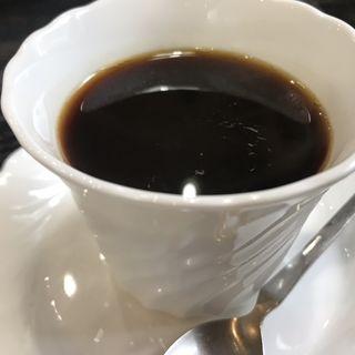 ランチ 食後のコーヒー