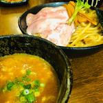 濃厚魚介つけ麺 極太麺
