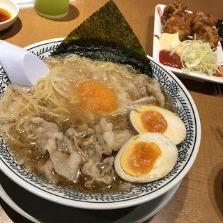 半熟煮玉子入り しょうゆ(丸源ラーメン 枚方店 )