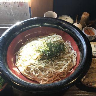 ごぼう天ざる蕎麦(春月庵)