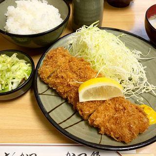 かつ定食(かつ銀 (かつぎん))