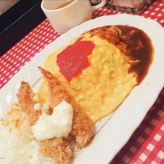 オムライス(洋食 あづま)