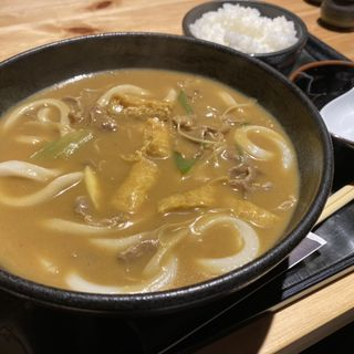 カレーうどん+白飯(千 (せん))