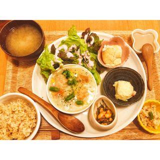 玄米定食(畑の食堂 ナチュラ (畑の食堂 NATURA))