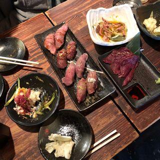 (渋谷肉横丁 肉寿司)