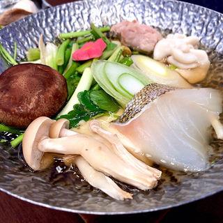 鱈と芹鍋(ホテルニュー水戸屋 )