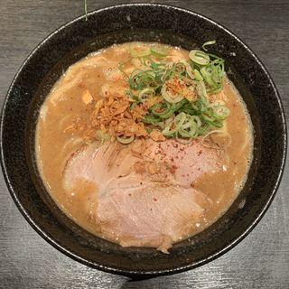 魚介鶏白湯醤油ラーメン(ラーメン こんじき 深草店)